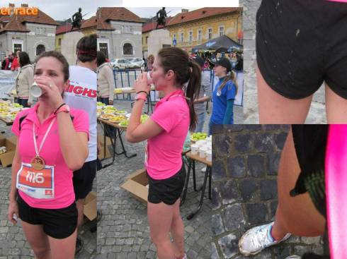 After race mud